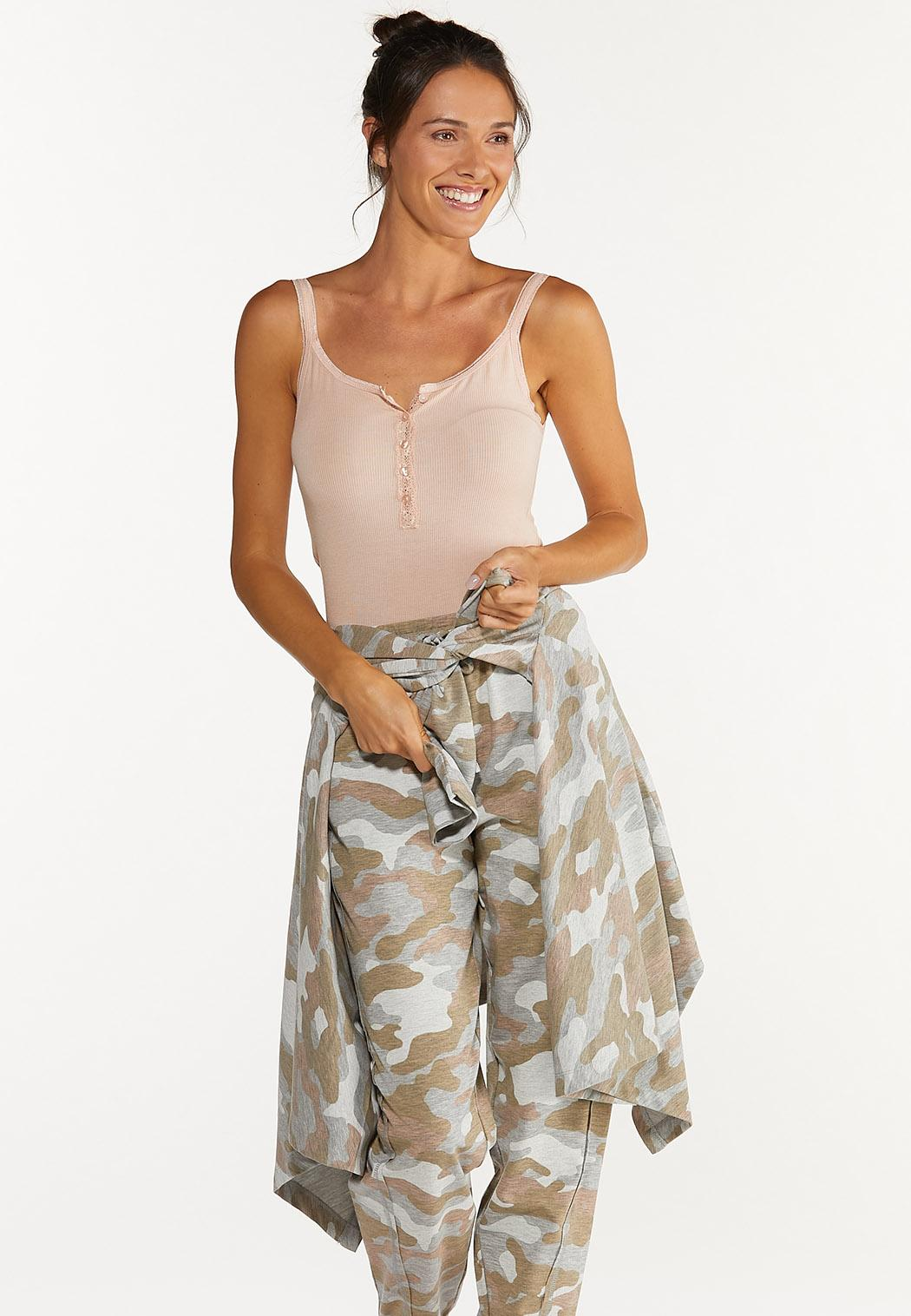 Plus Size Camo Cardigan (Item #44615378)