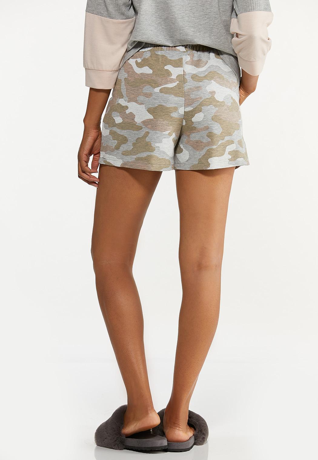Camo Drawstring Shorts (Item #44615672)