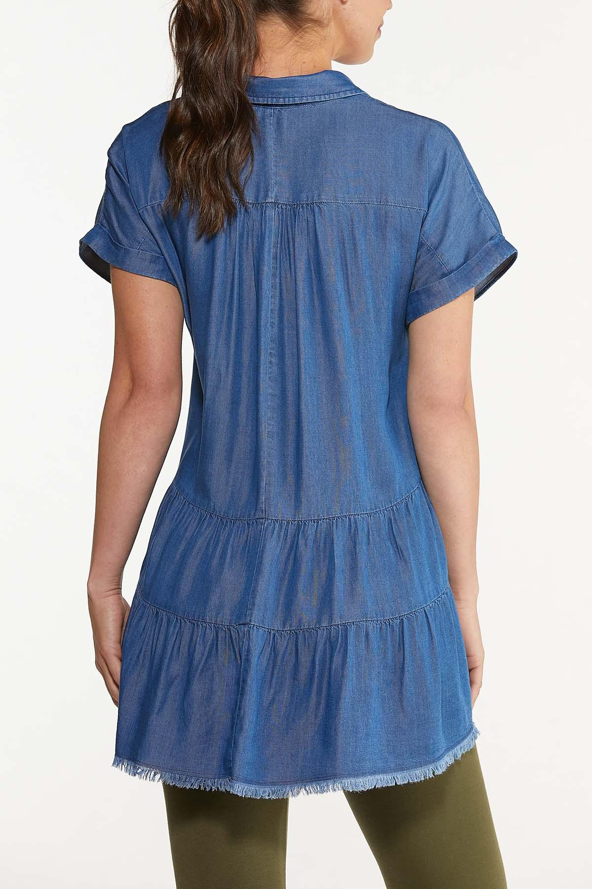 Chambray Tiered Tunic (Item #44617009)