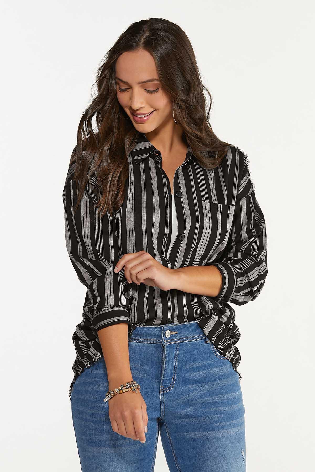 Frayed Stripe Tunic (Item #44617559)