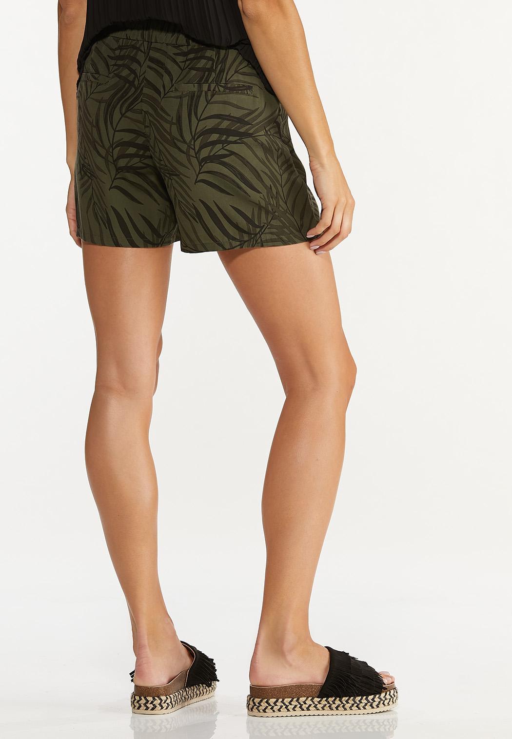 Palm Tencel Shorts (Item #44617594)