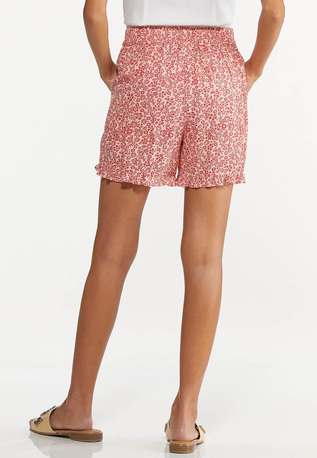 Ruffled Floral Shorts (Item #44617636)