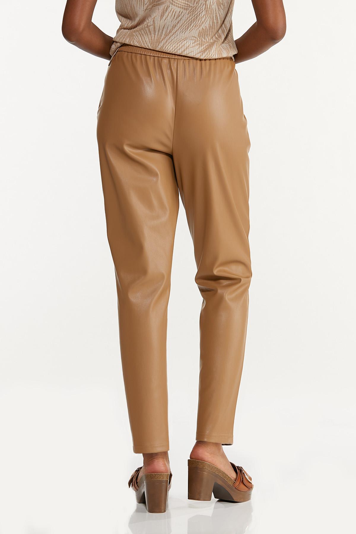 Faux Leather Pants (Item #44618160)
