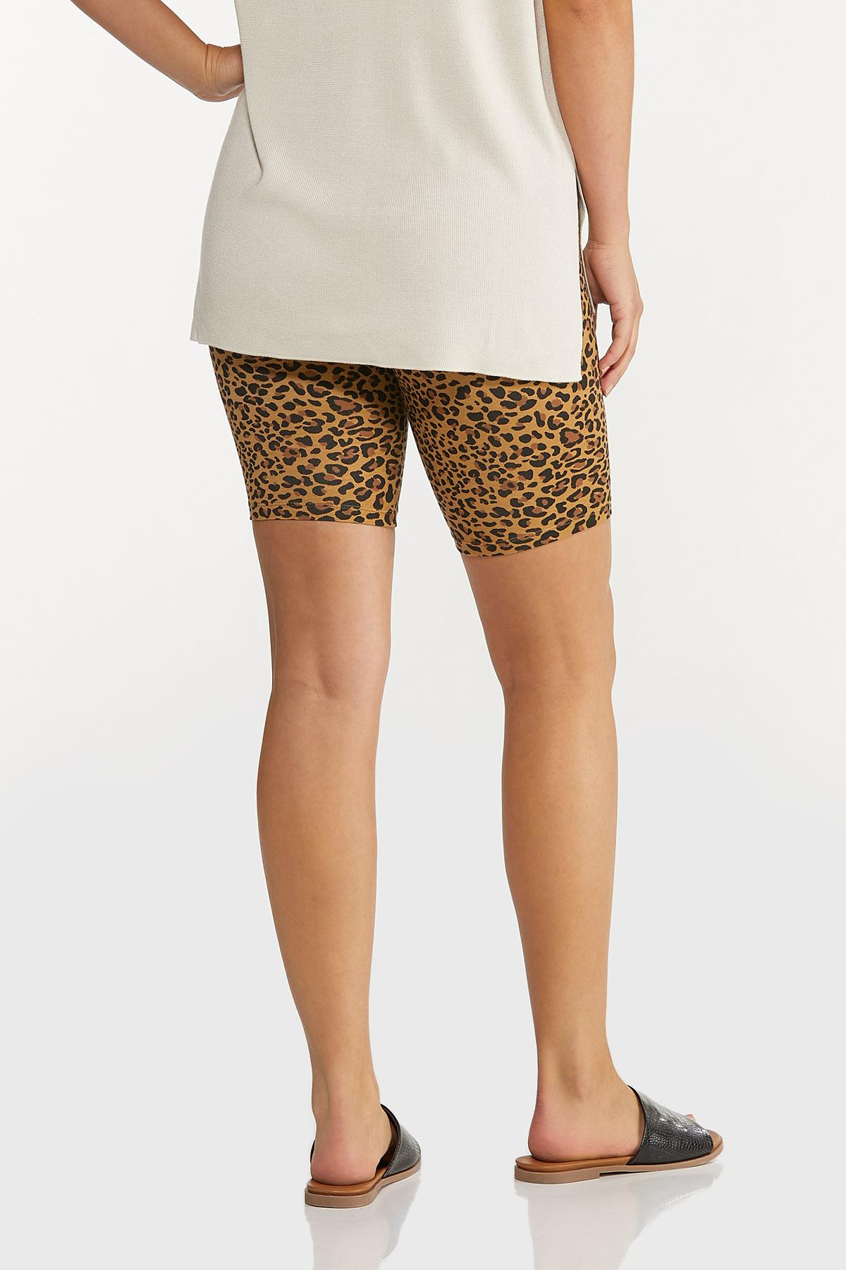 Leopard Biker Shorts (Item #44618357)