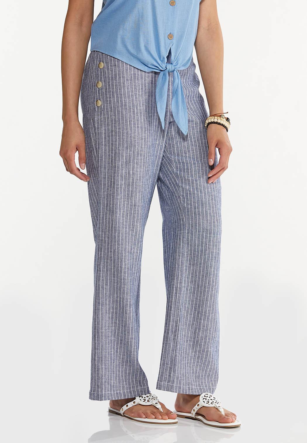 Sailor Stripe Linen Pants (Item #44618543)