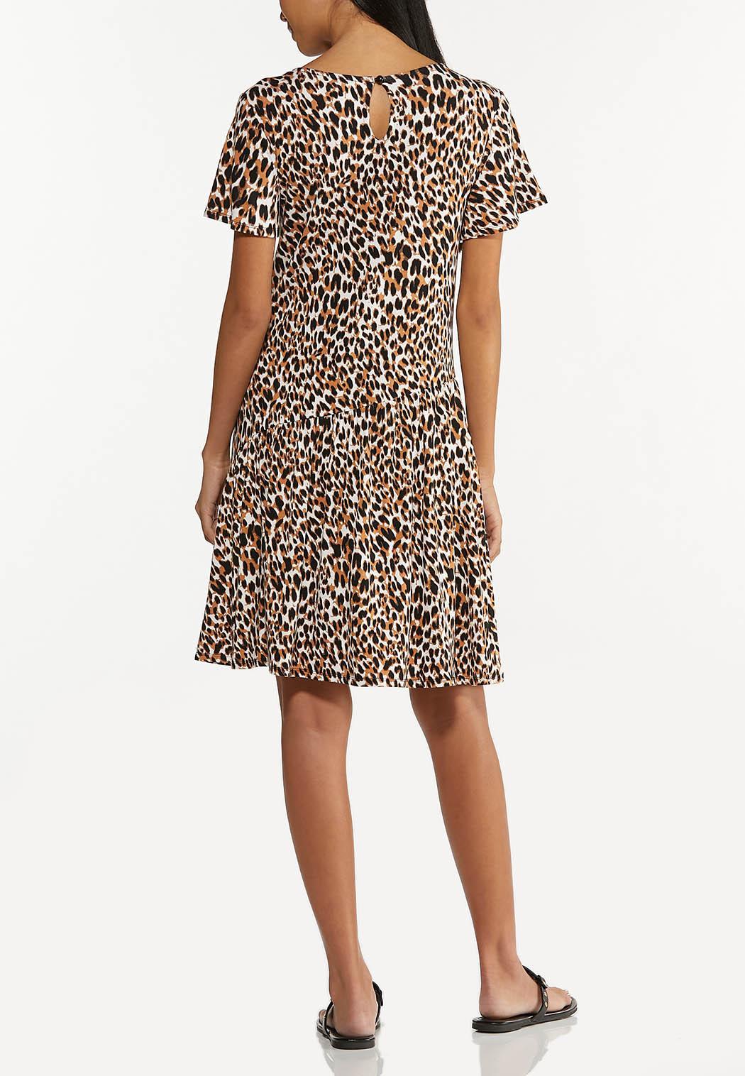 Leopard Babydoll Dress (Item #44619425)