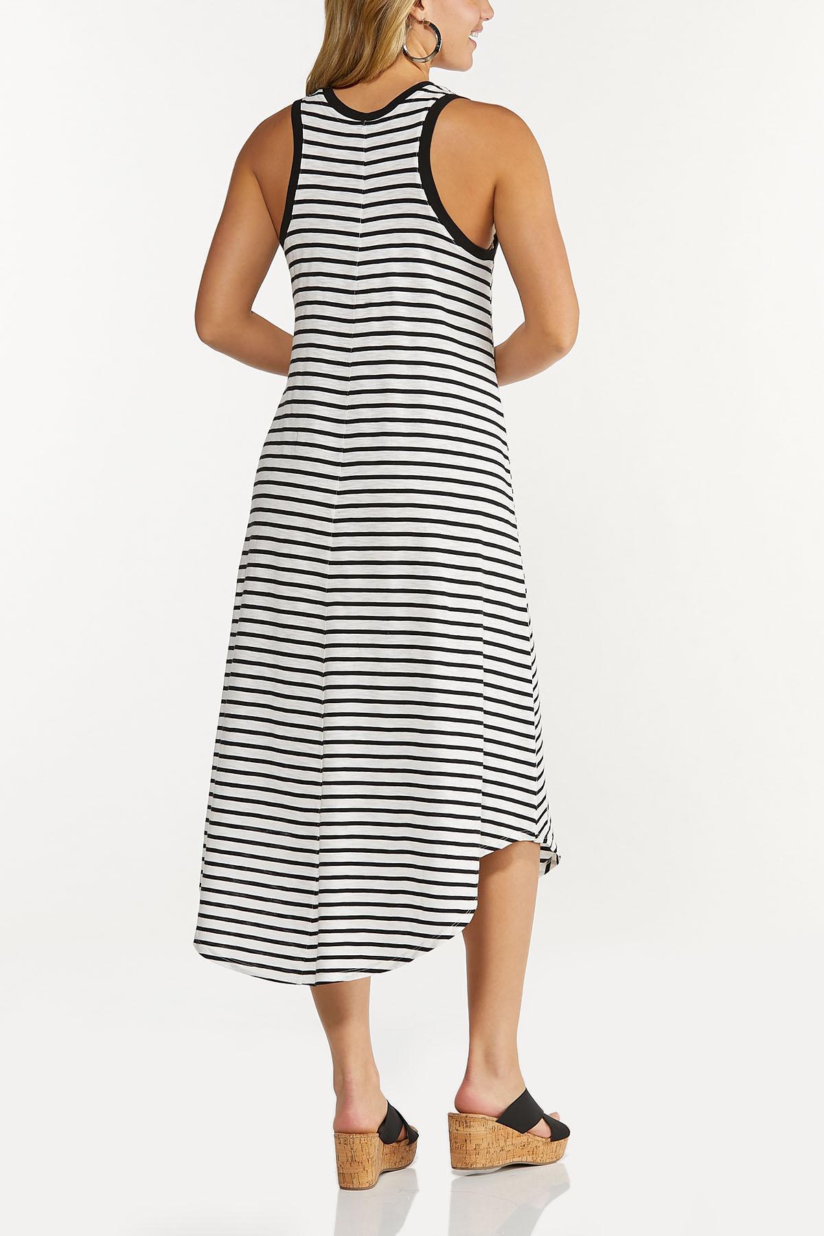 Striped Midi Dress (Item #44619471)
