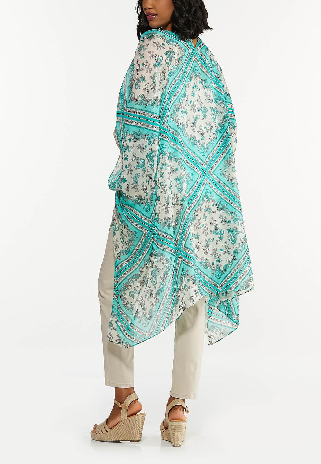 Paisley Patchwork Kimono (Item #44620200)