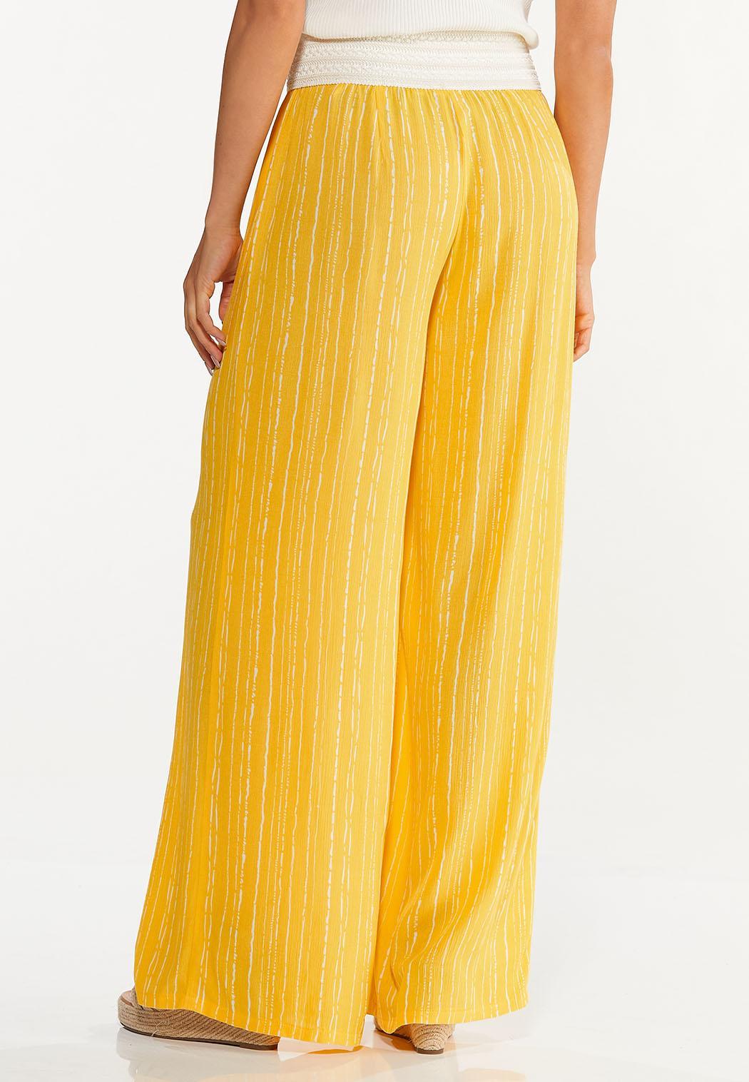 Gold Crochet Waist Pants (Item #44620773)