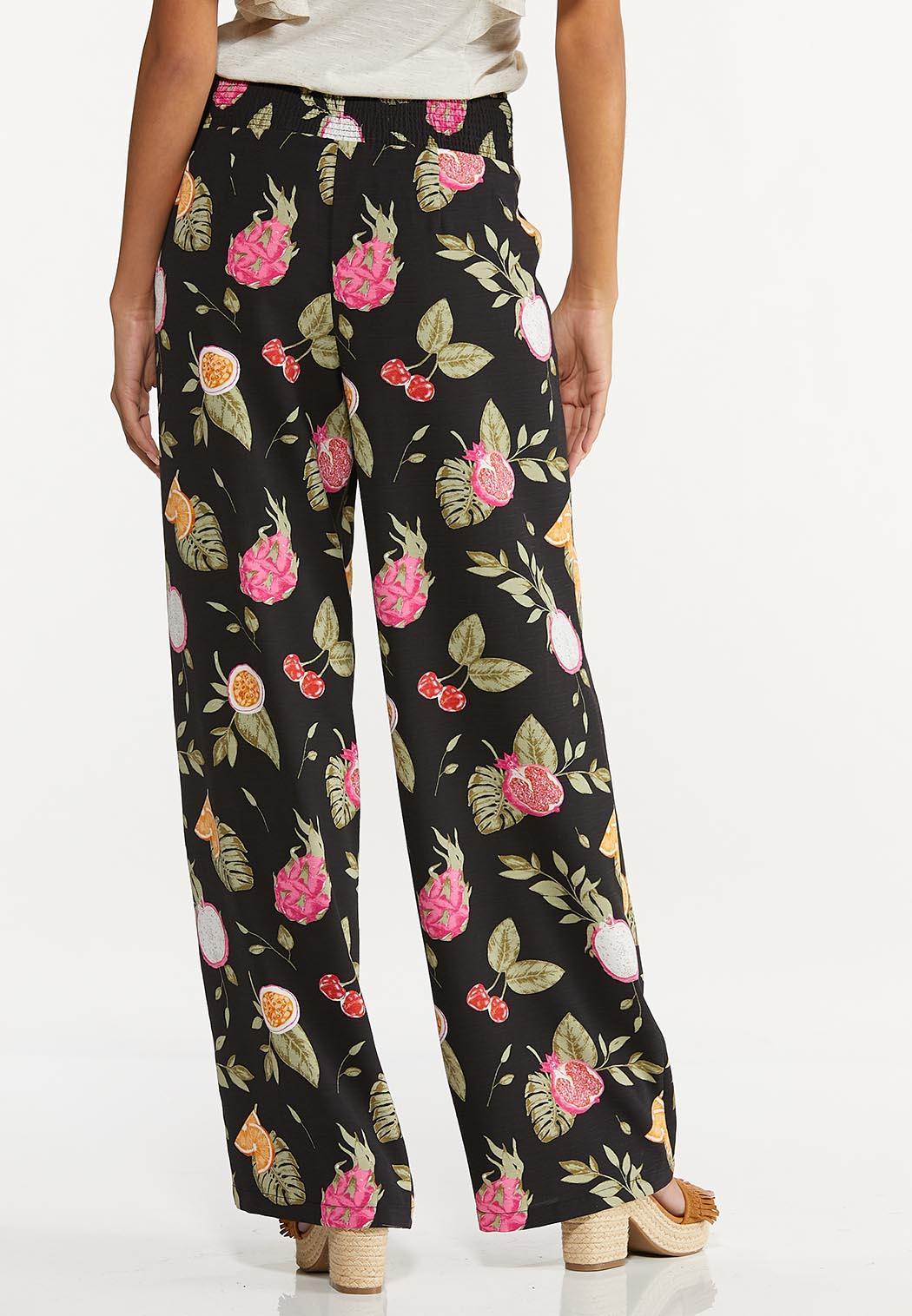 Petite Tropical Fruit Cocktail Pants (Item #44620803)