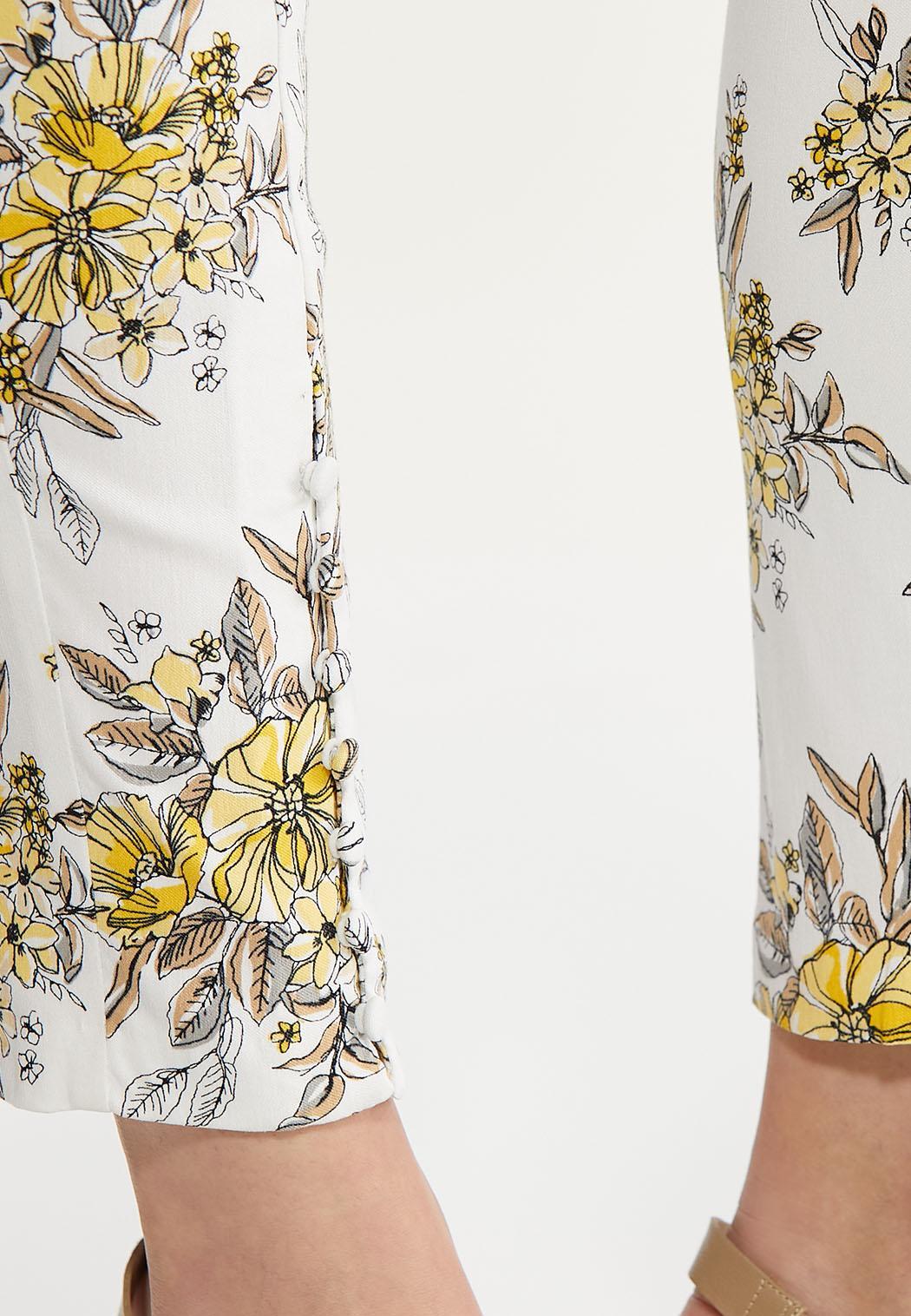 Sketch Floral Bengaline Pants (Item #44621041)