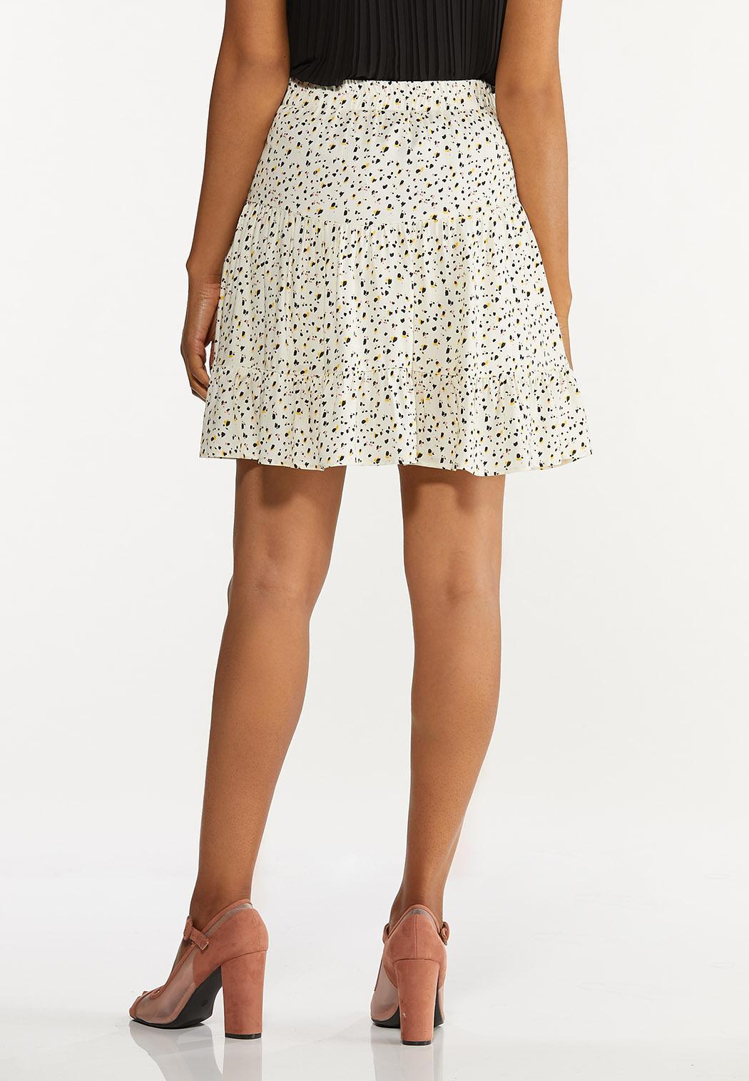Brushed Dot Mini Skirt (Item #44621087)