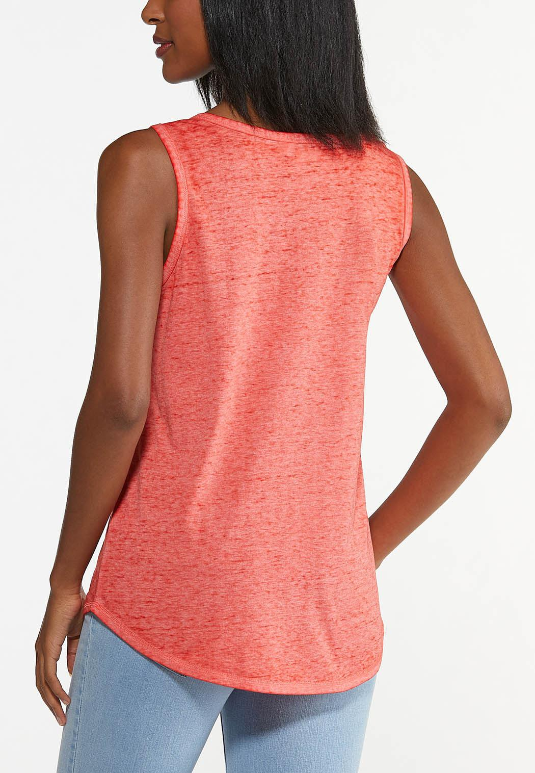 Plus Size Say Yes To Adventure Tank (Item #44621520)