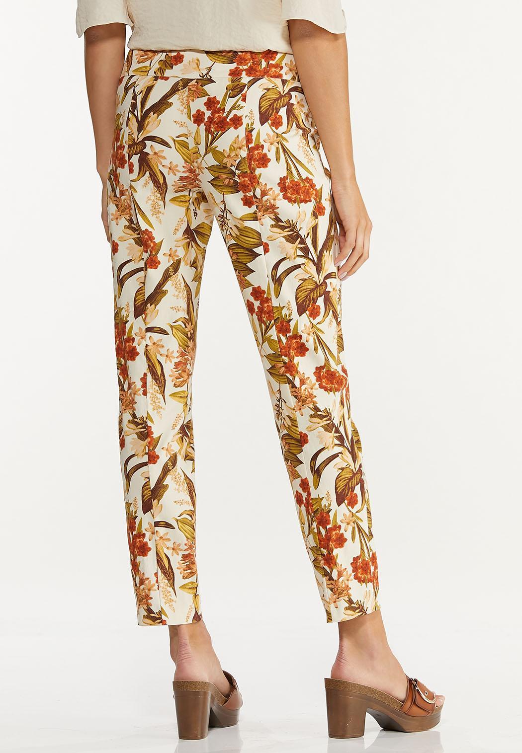 Fresh Floral Ankle Pants (Item #44622463)