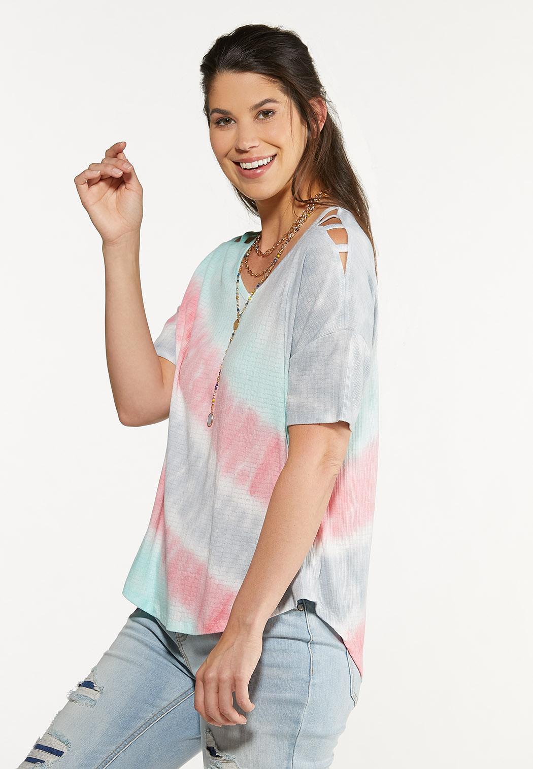 Pastel Tie Dye Top (Item #44622615)