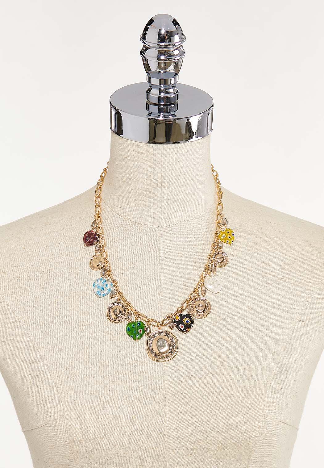 Mixed Shaky Charm Necklace (Item #44623462)