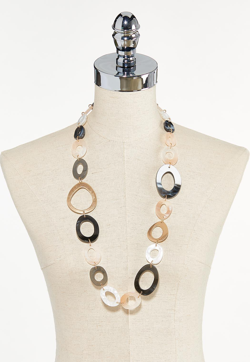 Mixed Oval Link Necklace (Item #44623497)