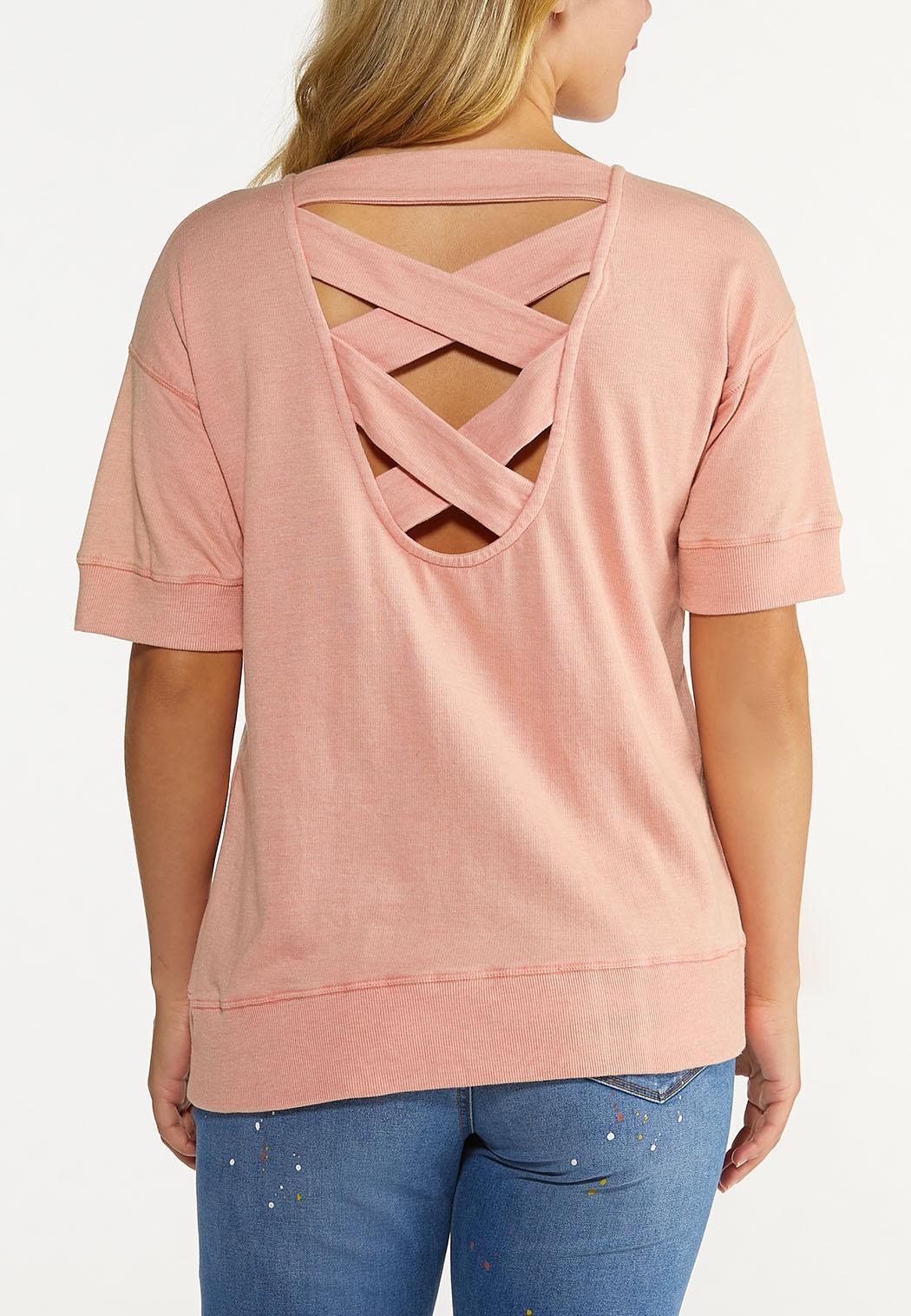 Criss Cross Back Sweatshirt (Item #44623774)