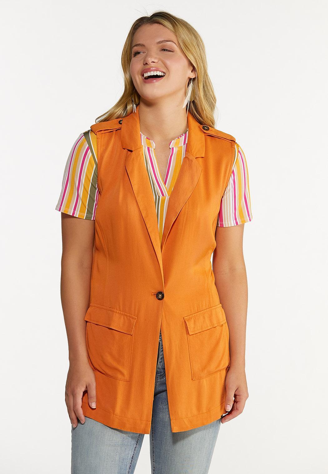 Orange Belted Vest (Item #44624154)