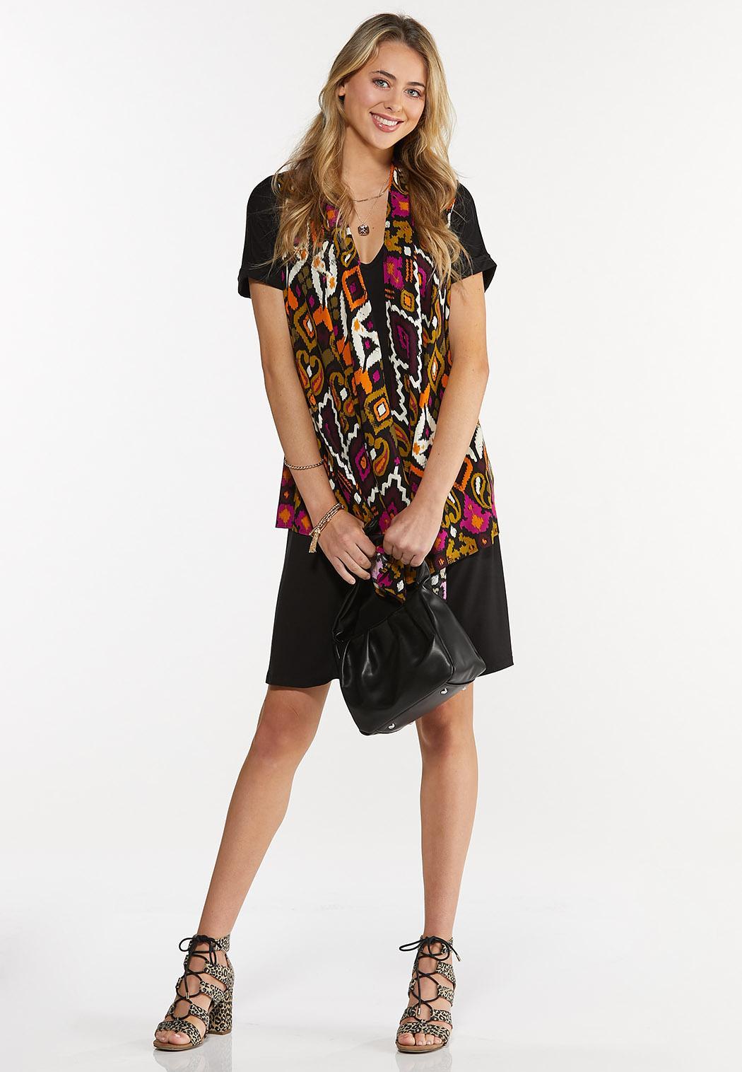 Plus Size Tribal Vest (Item #44624208)