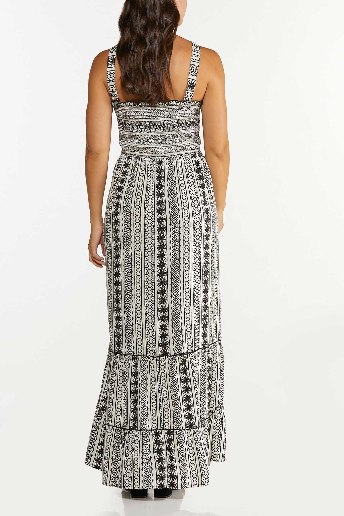 Plus Size Smocked Maxi Dress (Item #44625949)
