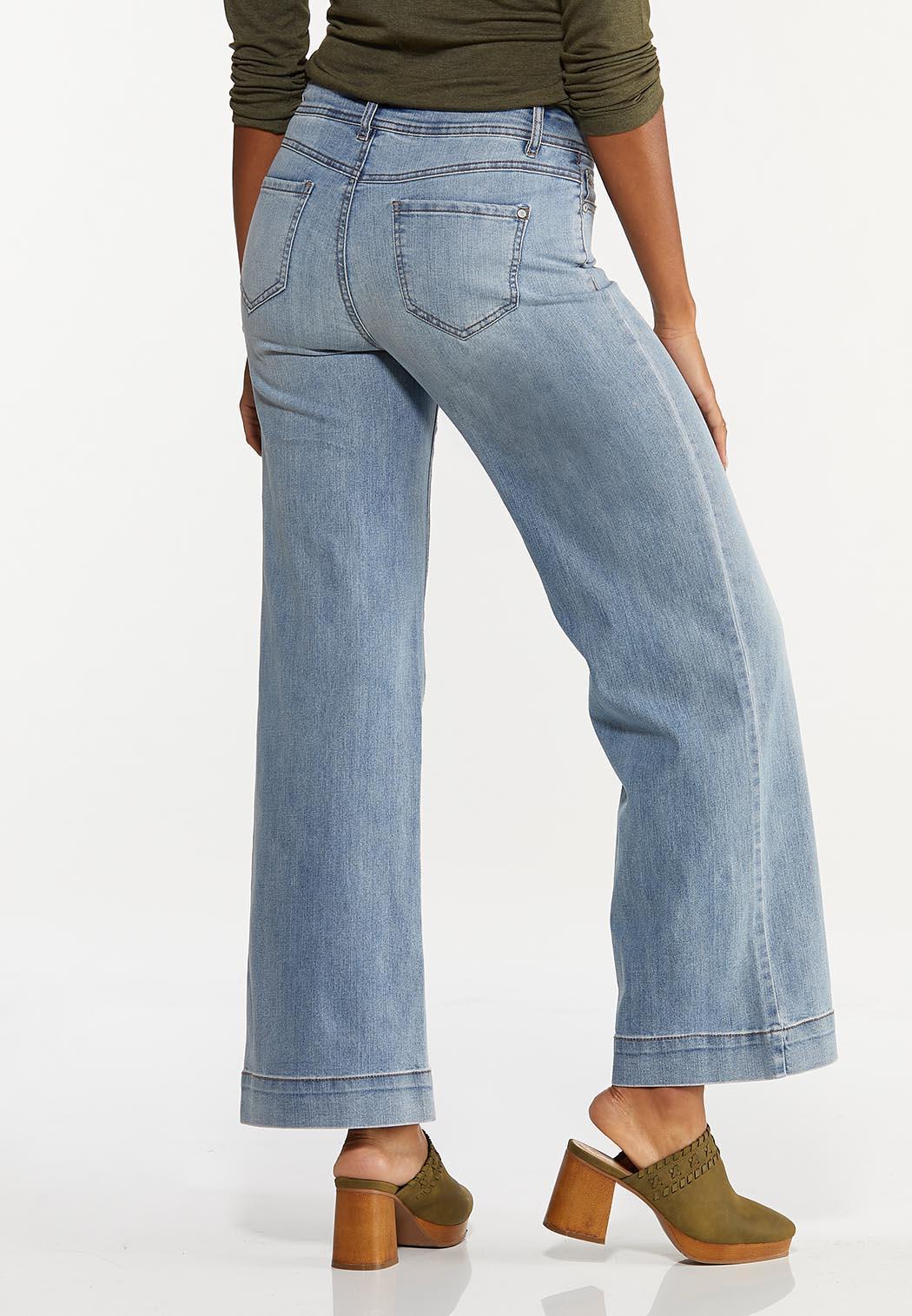 Wide Leg Jeans (Item #44626916)