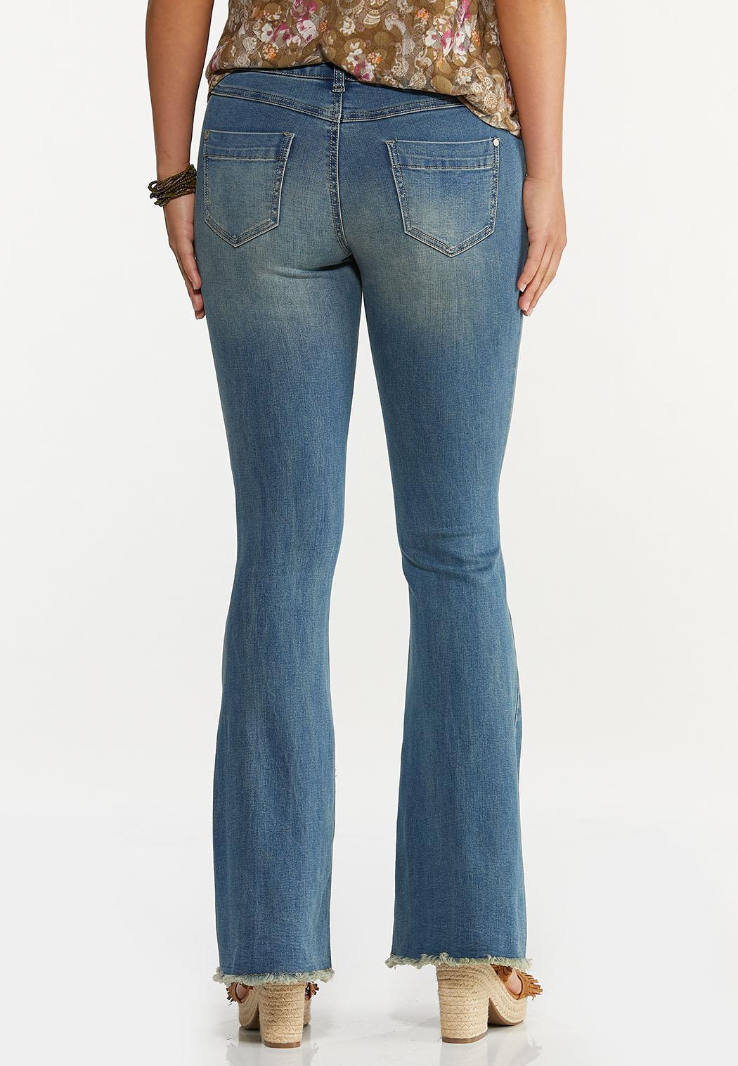 Distressed Flare Jeans (Item #44626938)