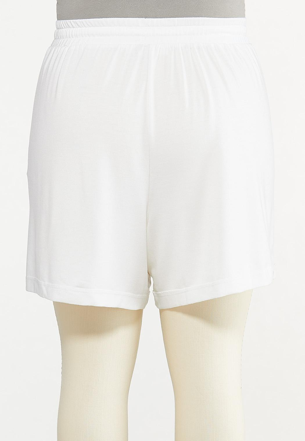 Plus Size French Terry Shorts (Item #44627121)