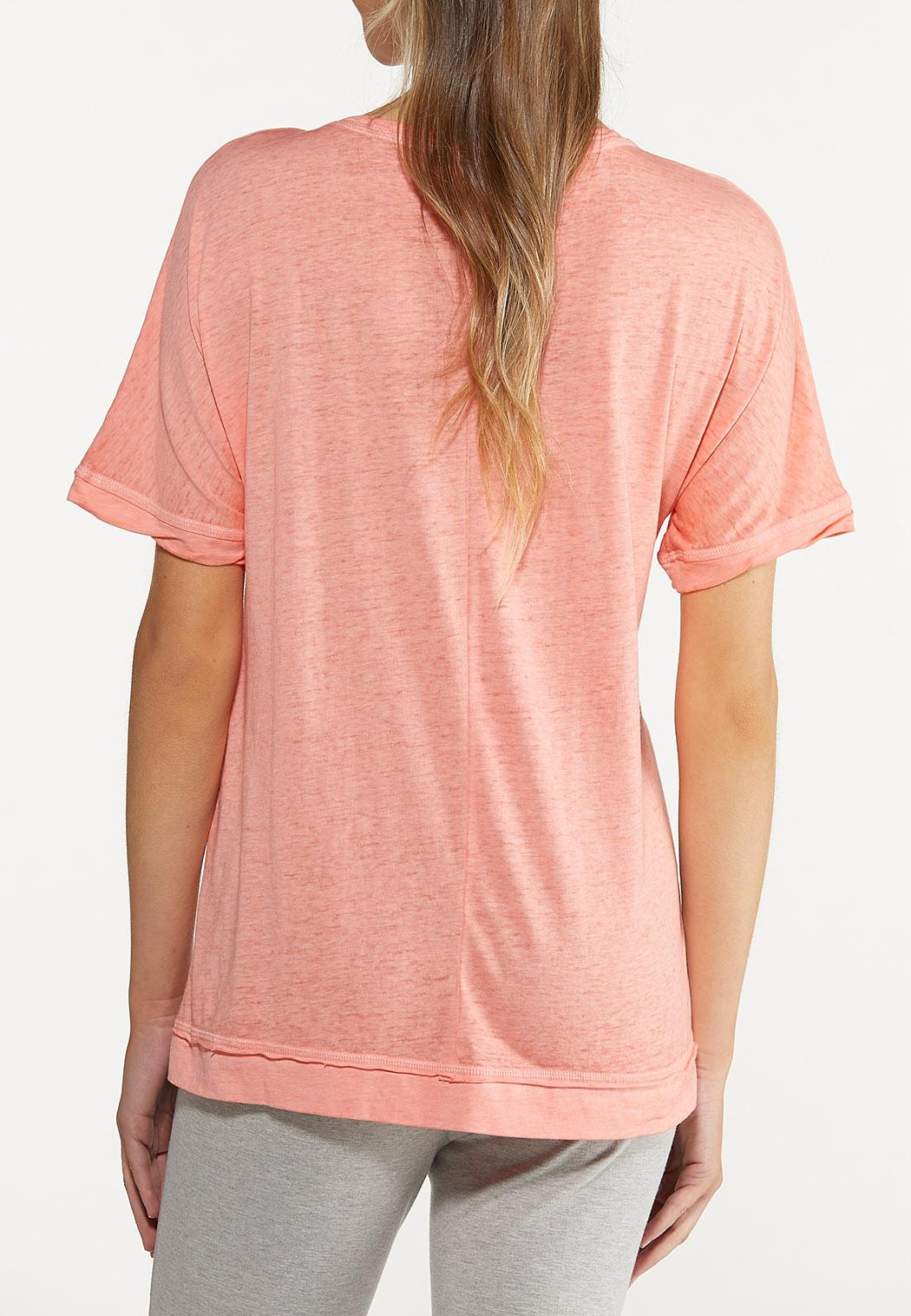 Plus Size Calm Mind Strong Heart Tee (Item #44627376)