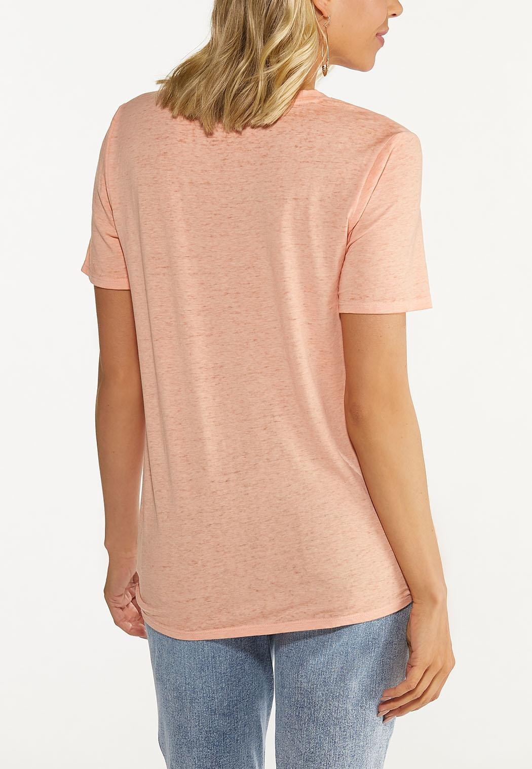 Plus Size Be Still Twisted Tee (Item #44627831)