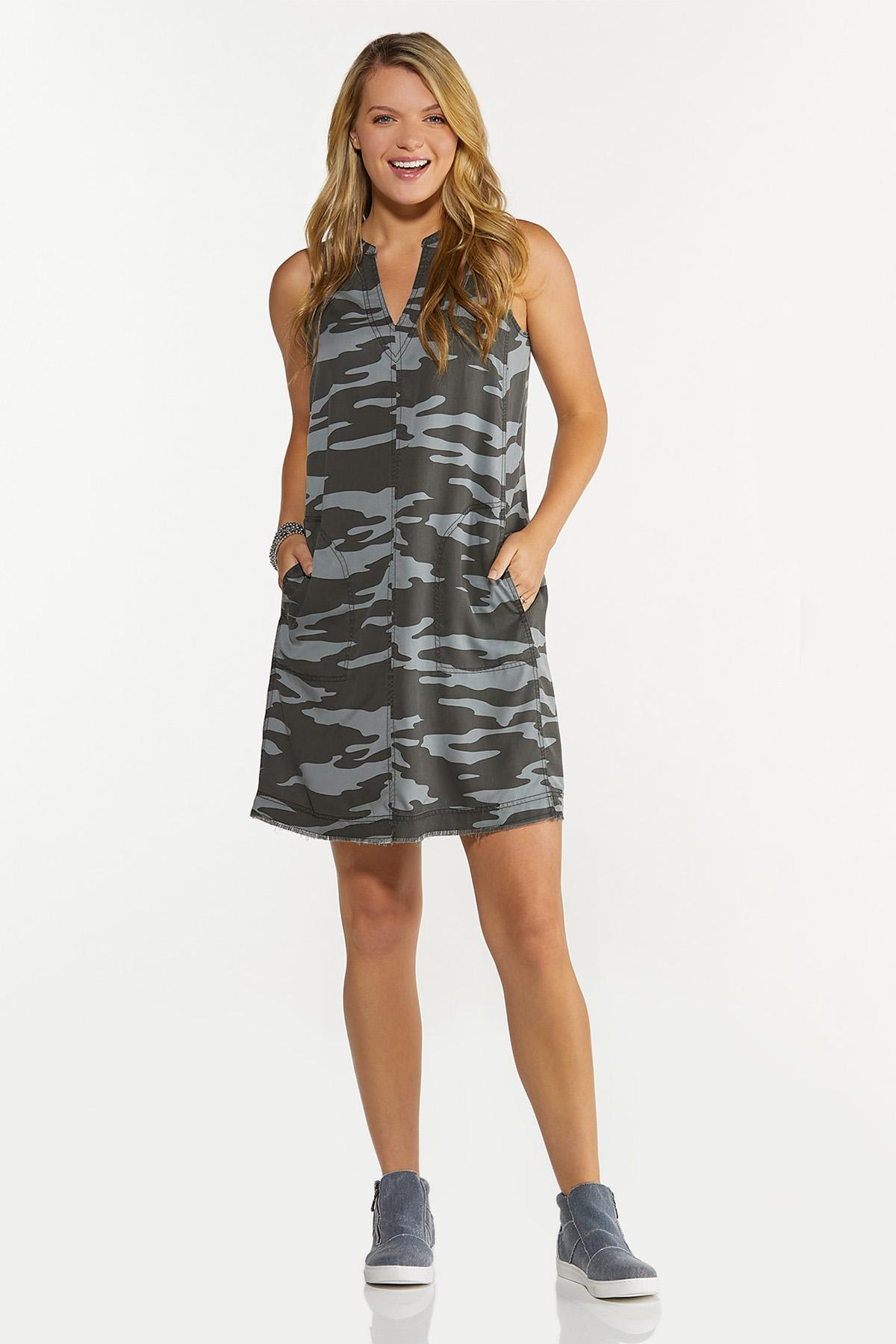 Camo Shift Dress (Item #44629161)