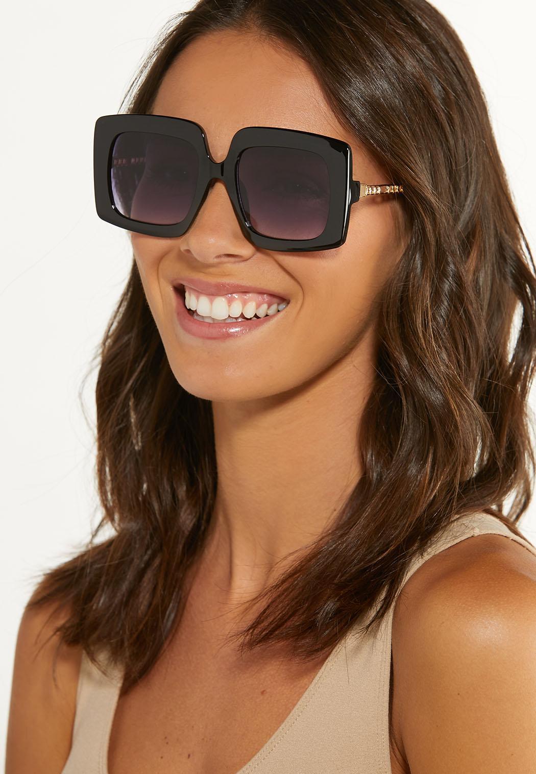 Statement Square Sunglasses (Item #44629295)