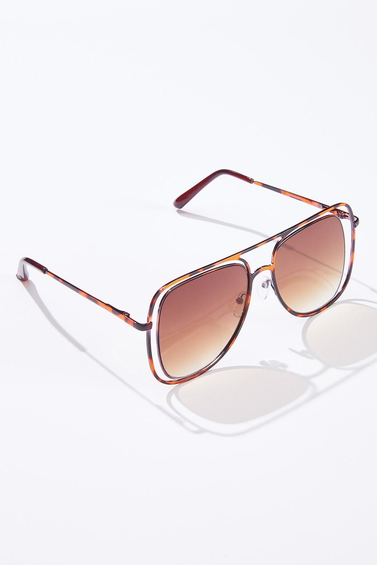 Cutout Frame Sunglasses (Item #44629427)