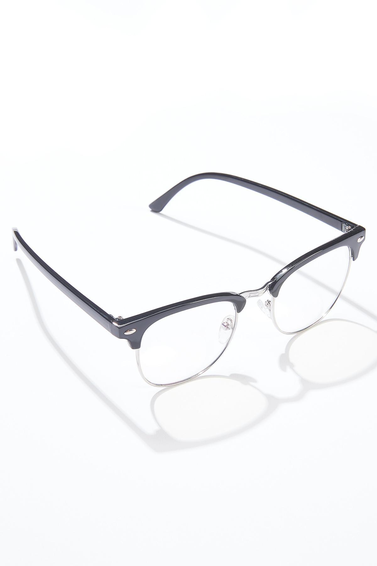 Black Temple Blue Light Glasses (Item #44629680)