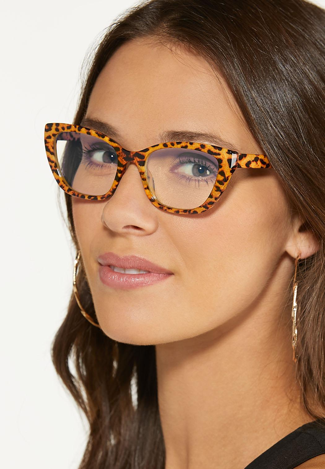 Leopard Blue Light Glasses (Item #44629787)