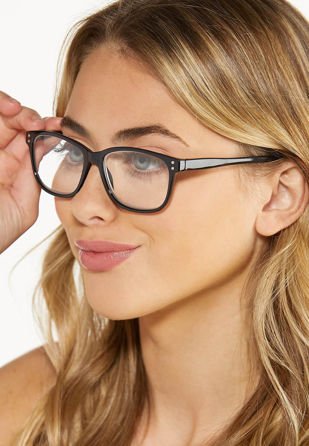 Classic Black Reader Glasses (Item #44629823)