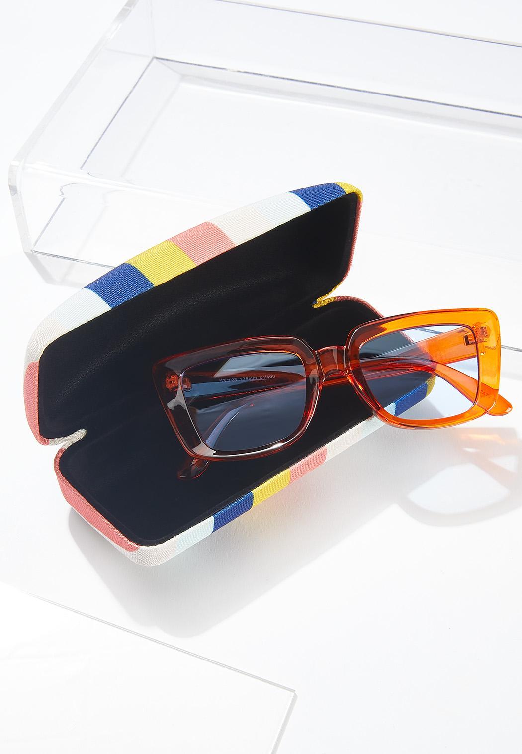 Striped Sunglasses Case (Item #44629885)
