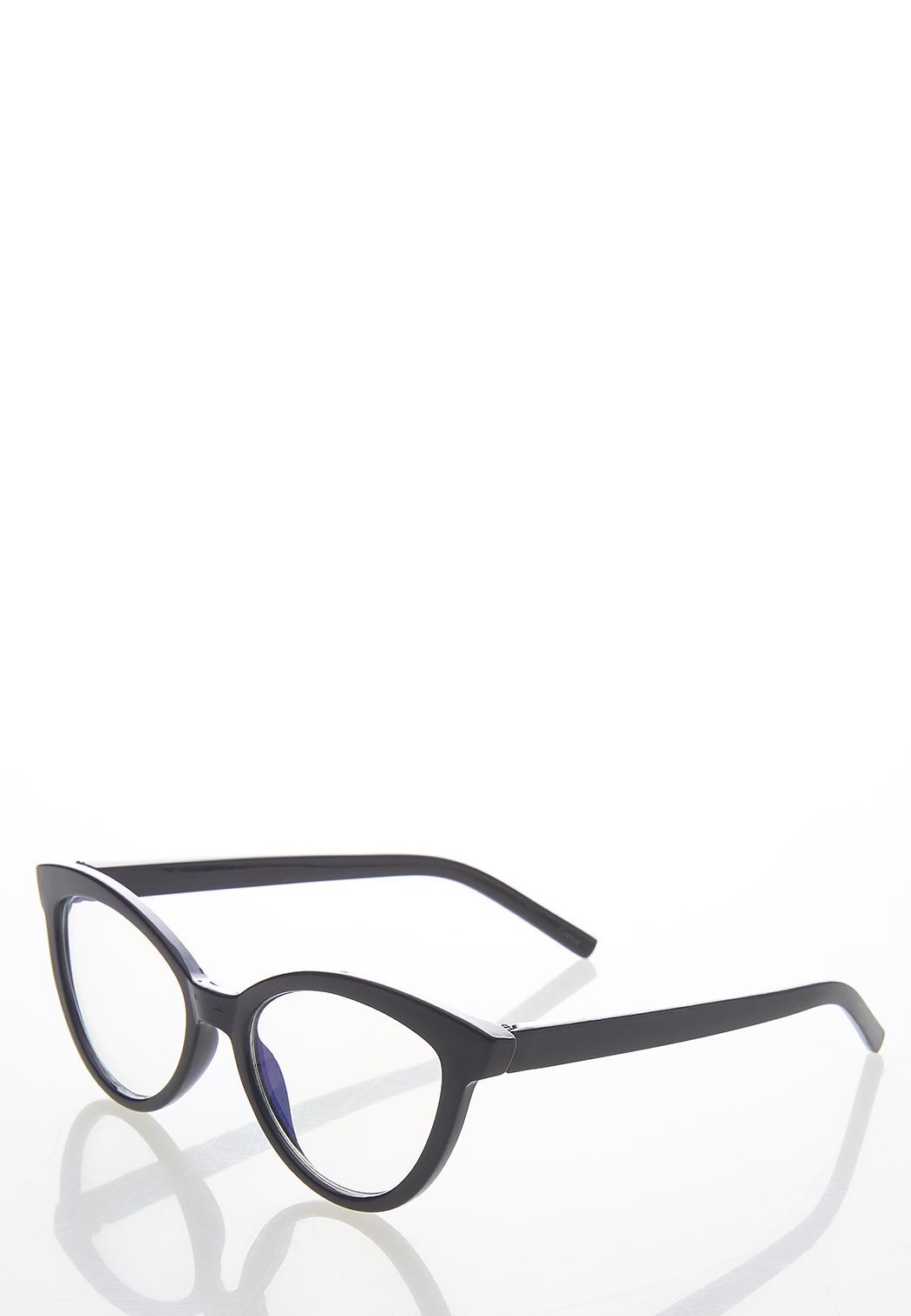 Black Cat Eye Blue Light Glasses (Item #44629997)