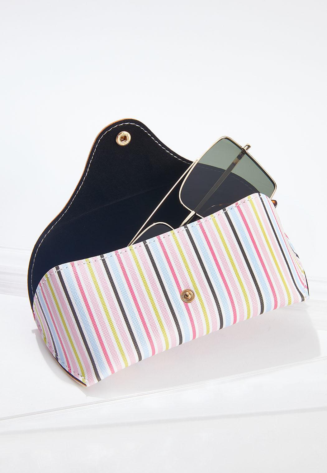 Multi Stripe Sunglasses Case (Item #44630252)