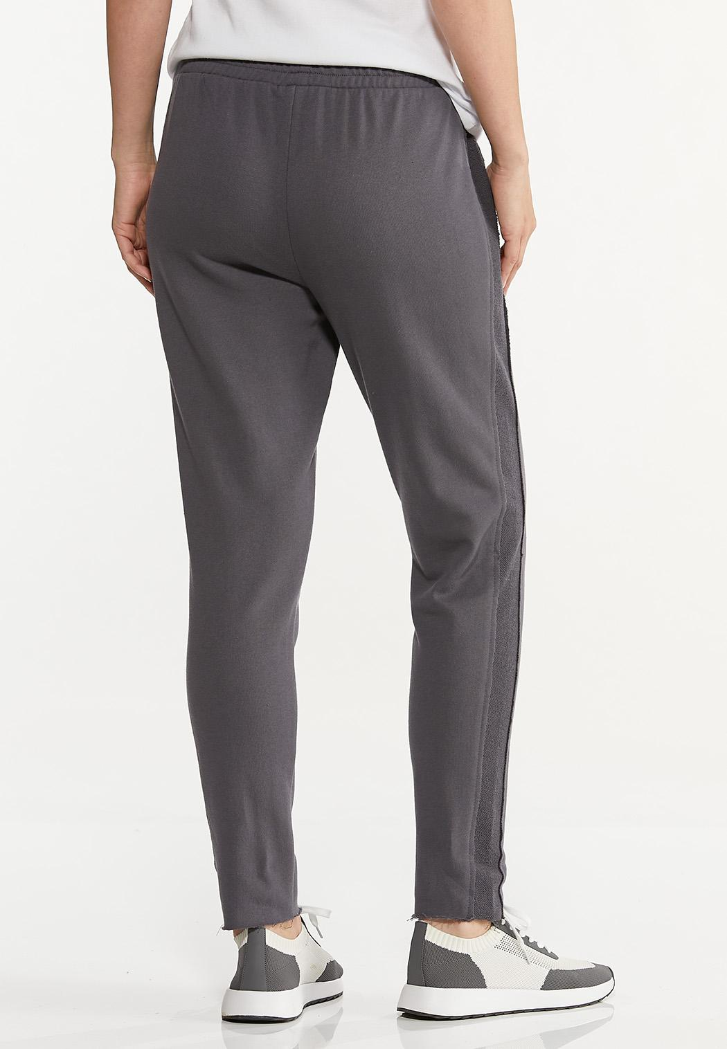 Contrasting French Terry Pants (Item #44630804)