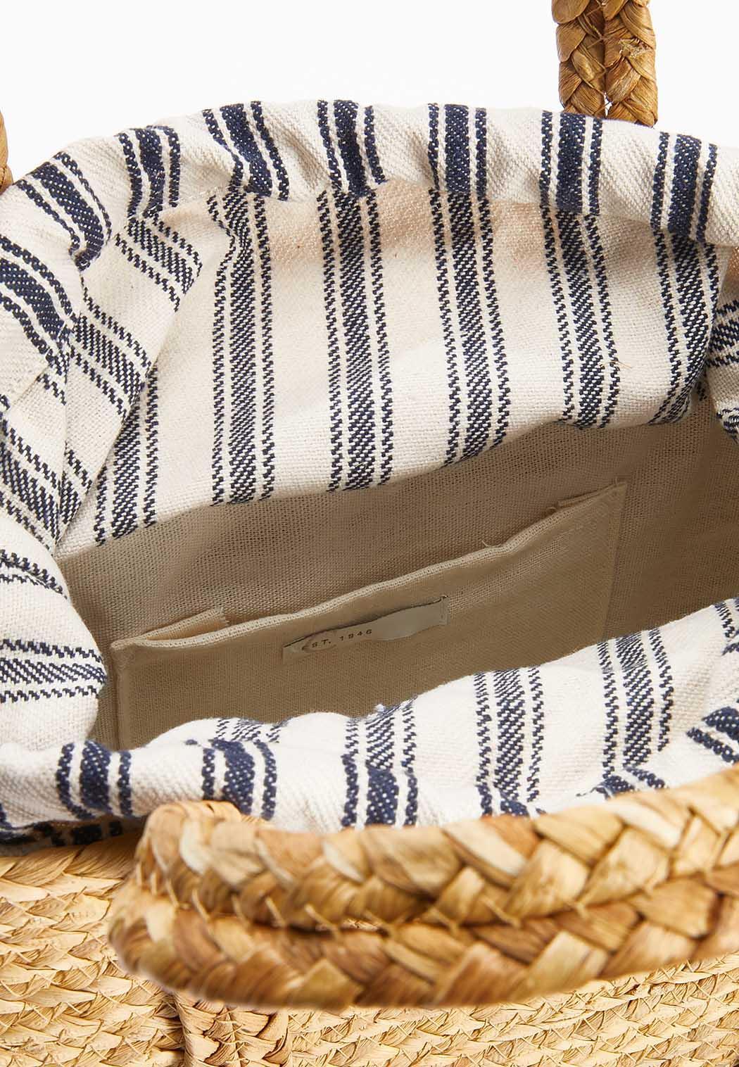 Lined Straw Handbag (Item #44630983)