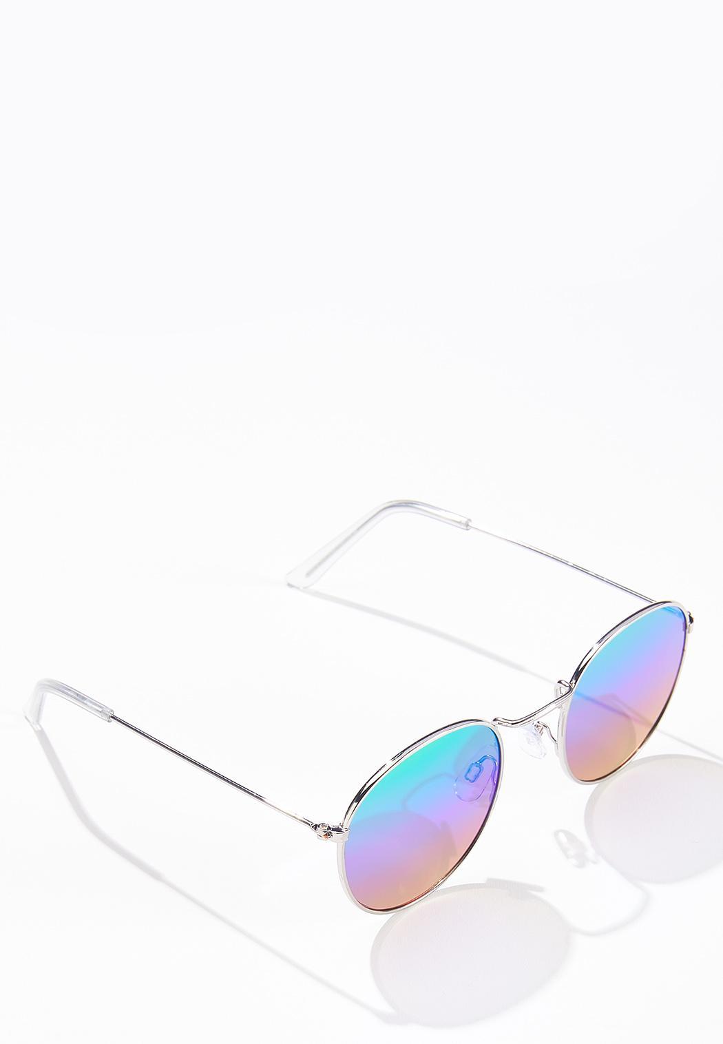 Rainbow Round Sunglasses (Item #44631936)