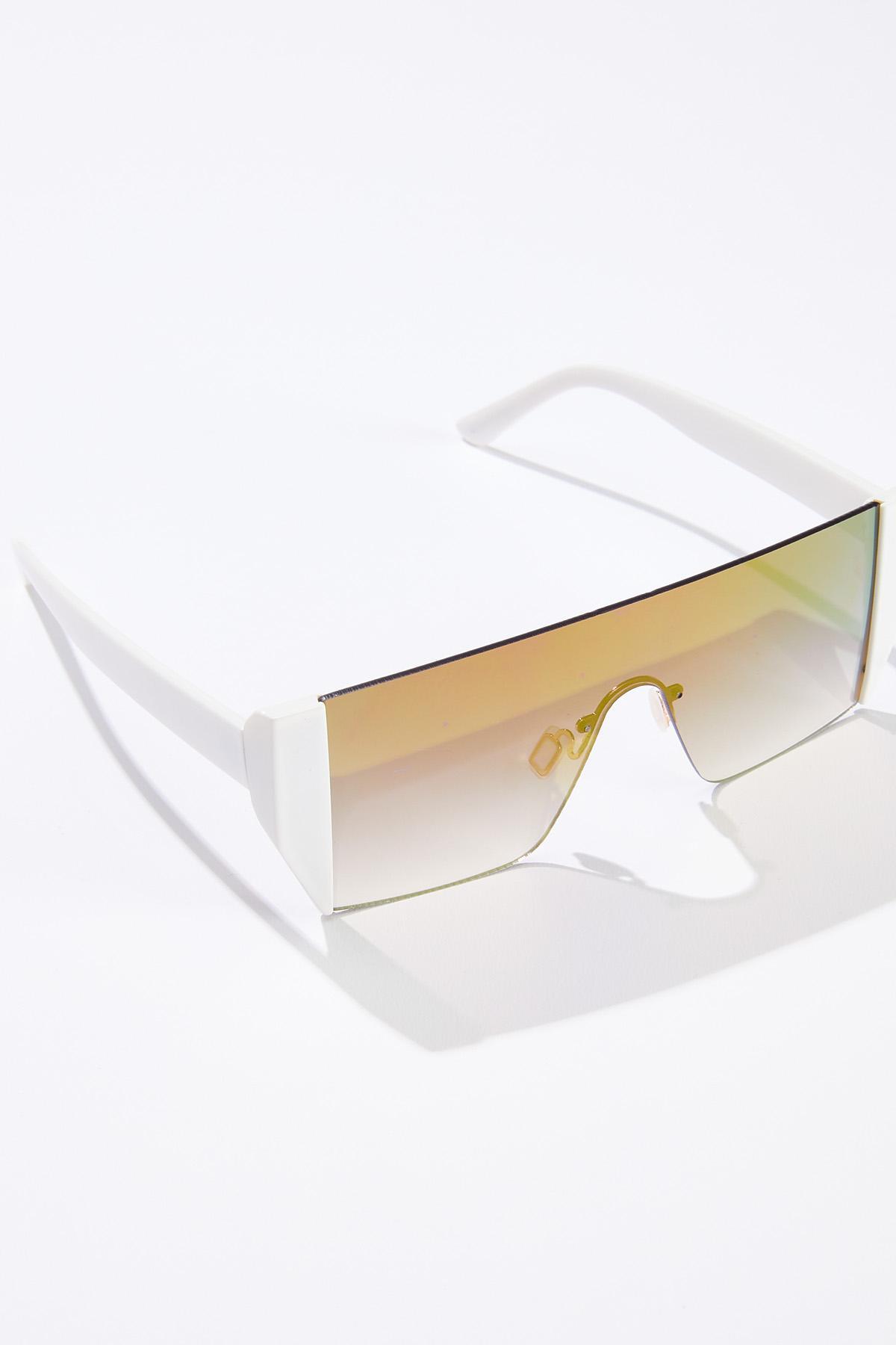 Mirrored Shield Sunglasses (Item #44632581)