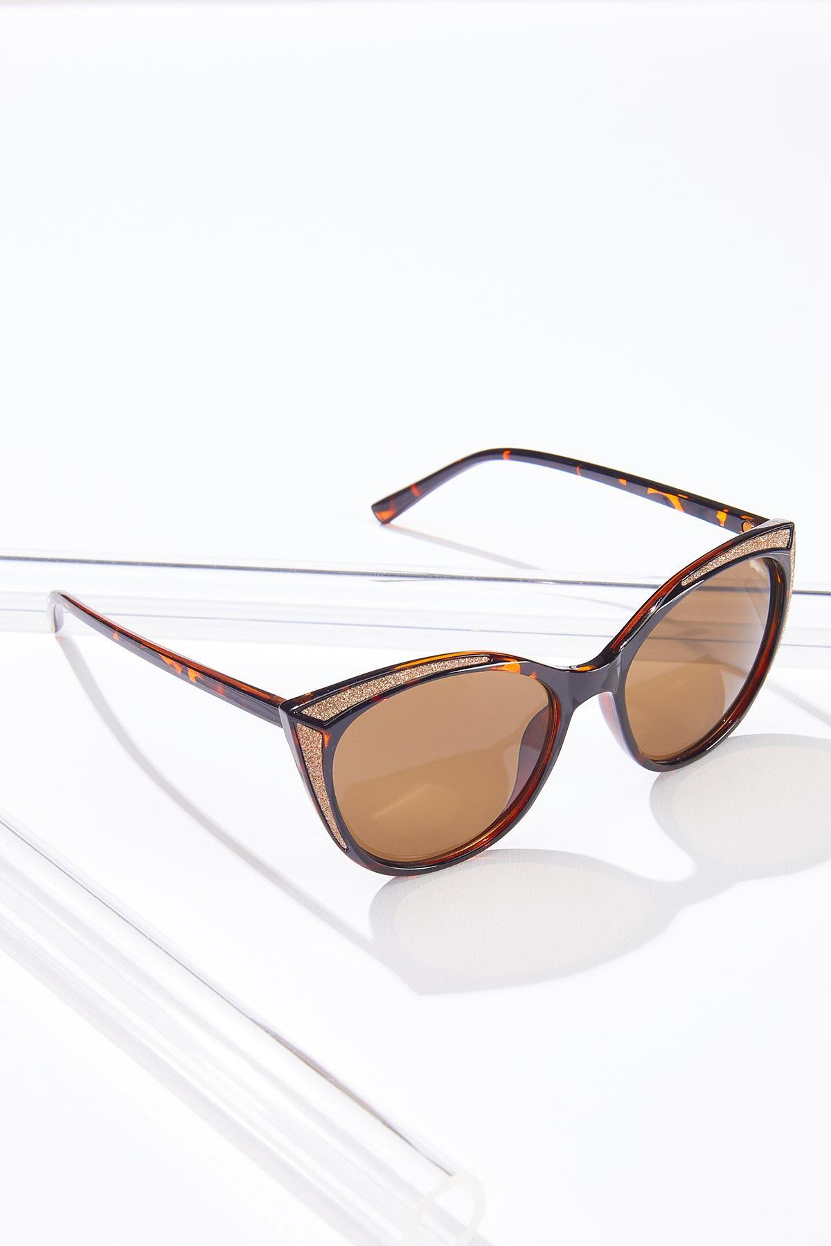 Glittery Tortoise Sunglasses (Item #44632608)