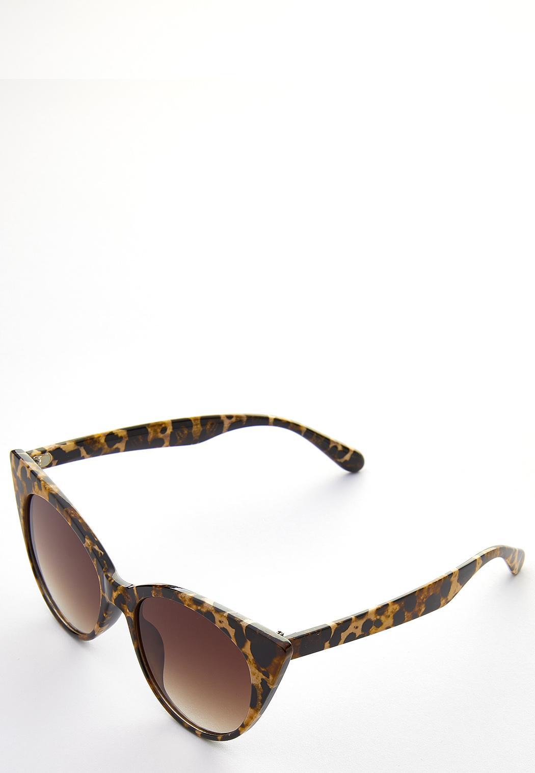 Leopard Cateye Sunglasses (Item #44632610)