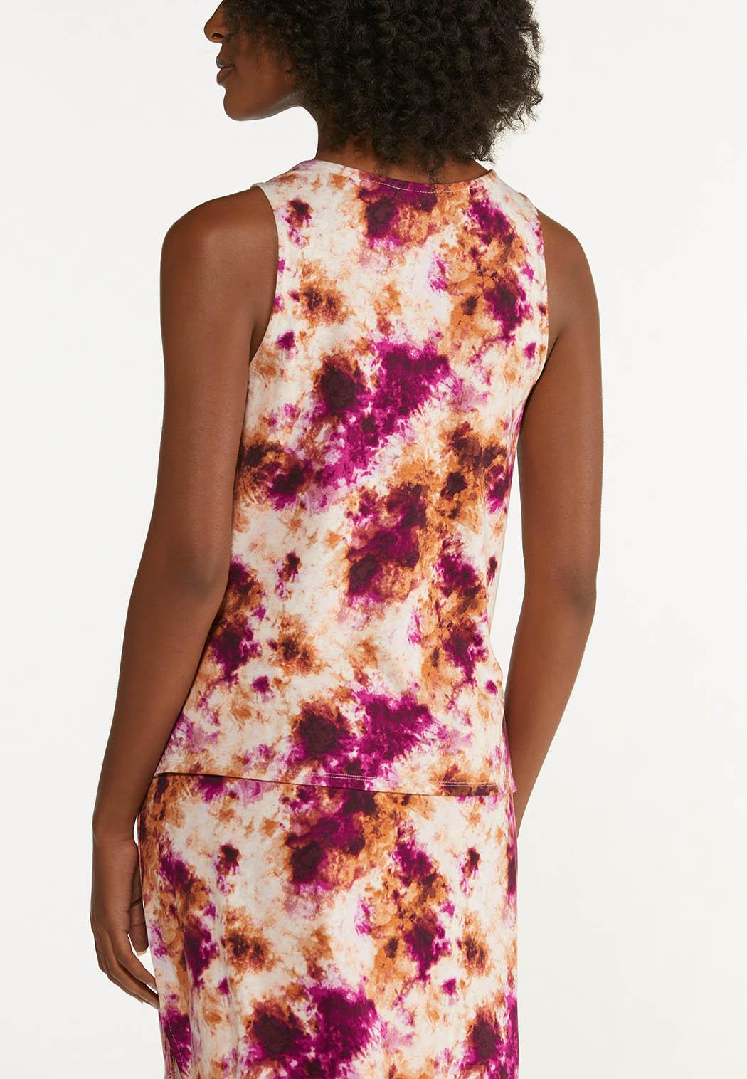 Cranberry Tie Dye Tank (Item #44633265)