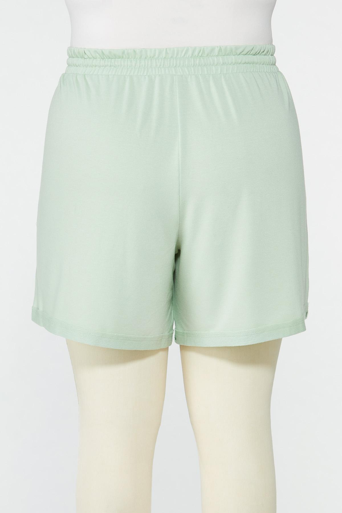 Plus Size French Terry Shorts (Item #44633424)