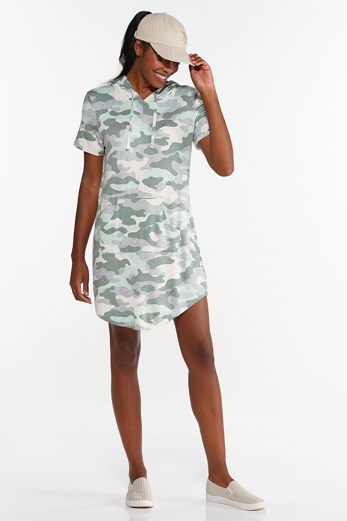 Plus Size Camo Active Dress (Item #44633807)