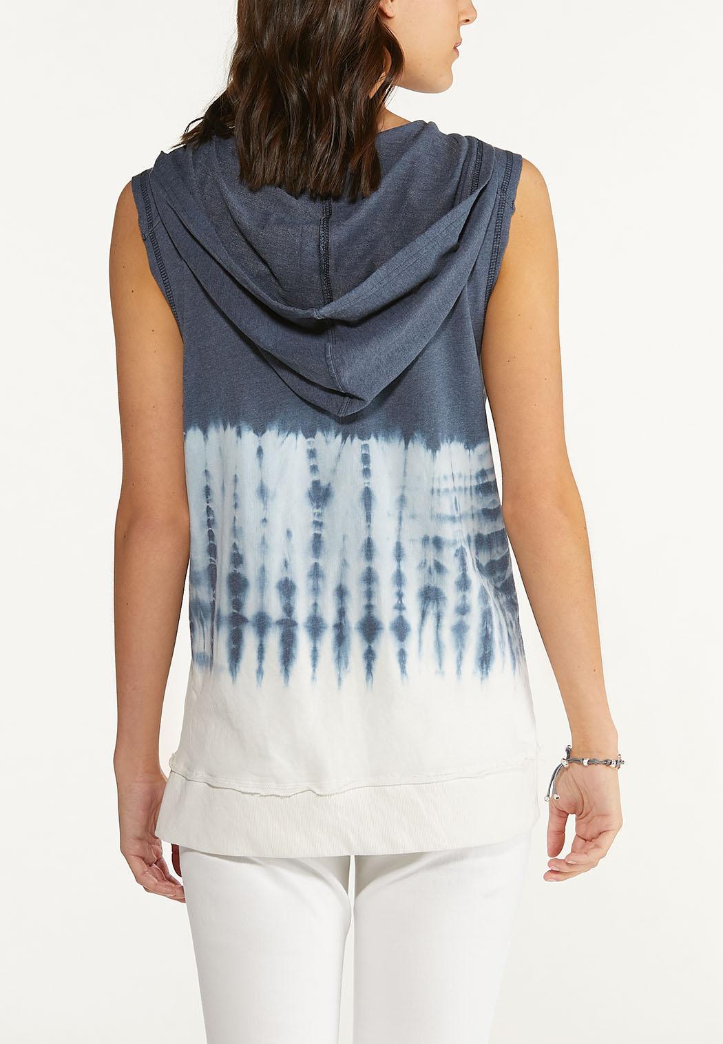 Plus Size Hooded Tank Sweatshirt (Item #44633886)