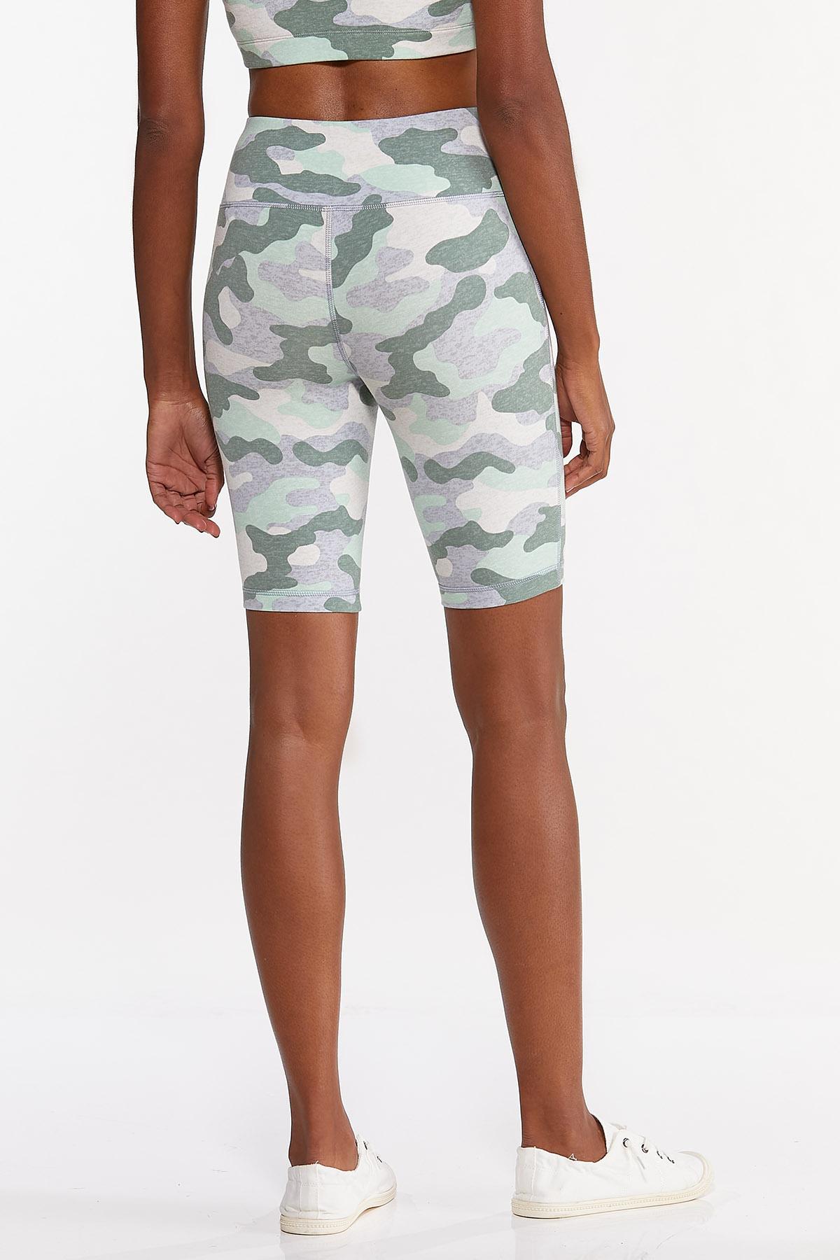 Camo Biker Shorts (Item #44633908)